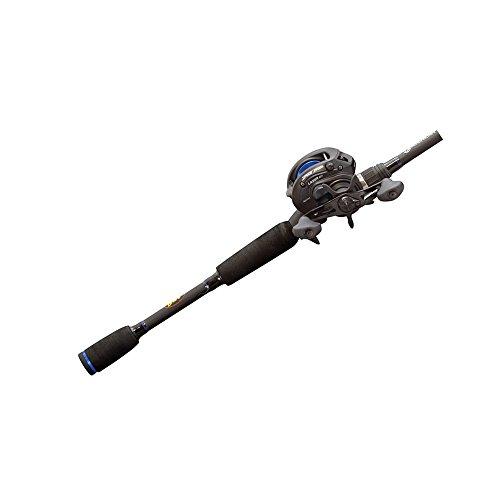 Lews Fishing American Heroes Speed Spool Baitcast Rod and Reel Combo 6 6Medium Heavy72 oz120 yd12 lb641