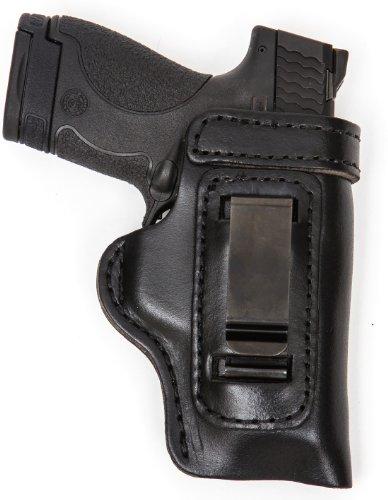 Glock 42 Gun Holster Pro Carry HD IWB CCW Leather Holster Black