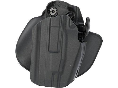 Safariland 578 7TS GLS Pro-Fit Standard Frame Long Slide Paddle Belt Loop Holster Plain Black Left Hand