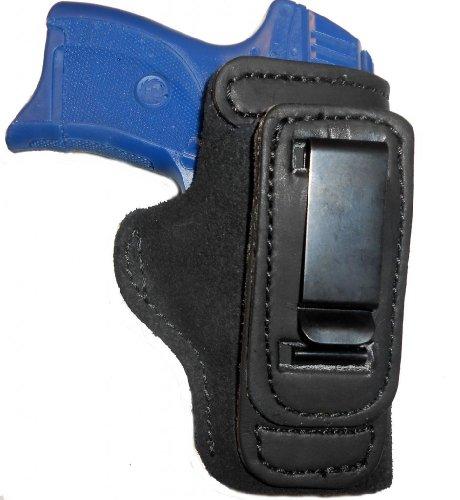 Taurus PT111 Millenium Leather Gun Holster Pro Carry Shirt Tuck Right Hand IWB Black