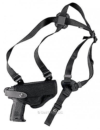 Smith Wesson Model 19 Cordura Horizontal Shoulder  Belt Holster