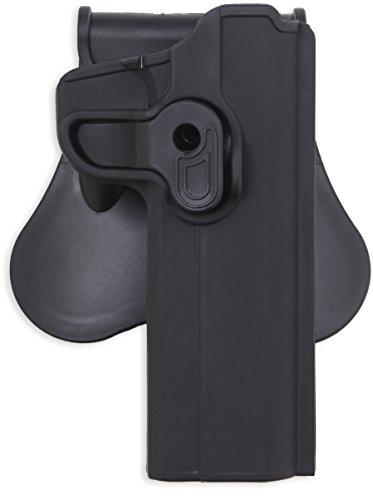 Bulldog Cases P-T247 Polymer Holster Black Right