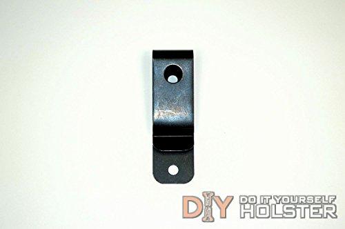 DIY Holster Steel Belt Clip - 10 Pack