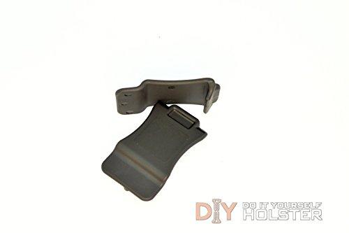 DIY Kydex Holster Quick Clips 15 Belts Black 2 Pack