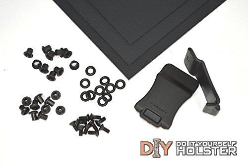 Kydex Boltaron Holster DIY Kit w Quick Clips 175 Belts