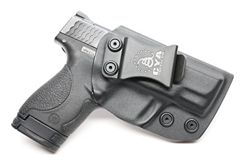 CYA Supply Co IWB Holster Fits Smith Wesson M&P Shield 9MM40 S&W - Veteran Owned Company - Made in USA - Inside Waistband Concealed Carry Holster