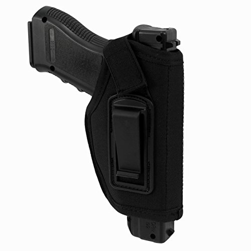 Concealed Belt Holster IWB Holster Inside The Waistband Holster for S&W M&P Shield  GLOCK 26 27 29 30 33 42 43  Springfield XD XDS  Ruger LC9 All Similar Pistols