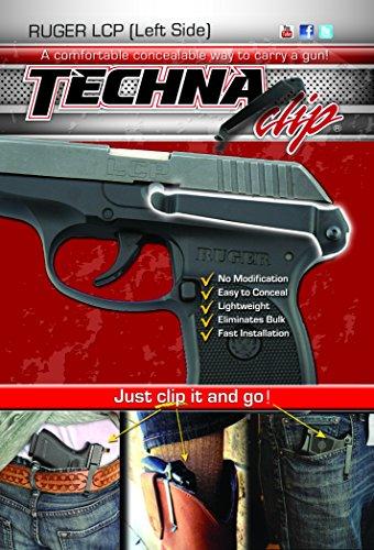 Techna Clip - Ruger LCP 380 - Conceal Carry Belt Clip Left-Side