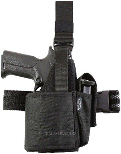 Ruger SR9 Nylon Tactical Holster for Gun w LightLaser