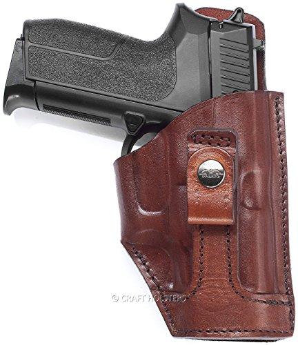 Ruger SR9 Tuckable Leather Concealed Carry Holster