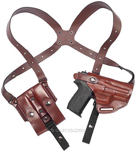 Beretta M9 Leather Shoulder Holster System