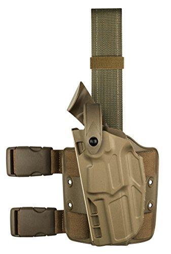 Safariland 7004 7TS SLS Tactical Beretta 92 Holster STX Flat Dark Earth Right
