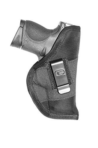 Crossfire Elite GRPCLPSA1C-3 Grip Clip Compact Ambidextrous Semi-Auto Holster LeftRight Hand Black