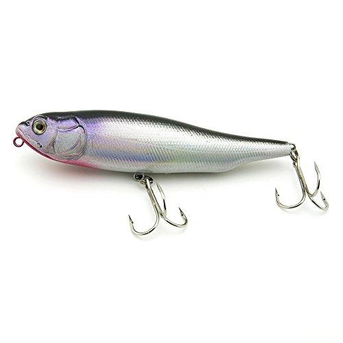 2x Freshwater Saltwater Coarse Sea Crank Salmon Tackle Swimbait truite Fishing Lures Crankbait Baits peche leurres PO-100-30 100mm 14g Pencil