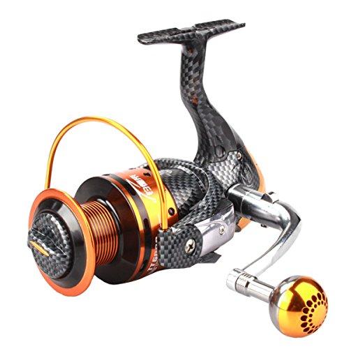High-carbon Serpentine Fishing Wheel 13 Bearing No Gap Spinning Wheel Sea Fishing Reel