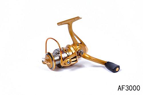 MEOLY Metal Alloy Spool Folding Rocker Fishing Reel Spinning Reel 6 Ball Bearings Gear Ratio 551 High Speed Sea Fishing Reel Type AF3