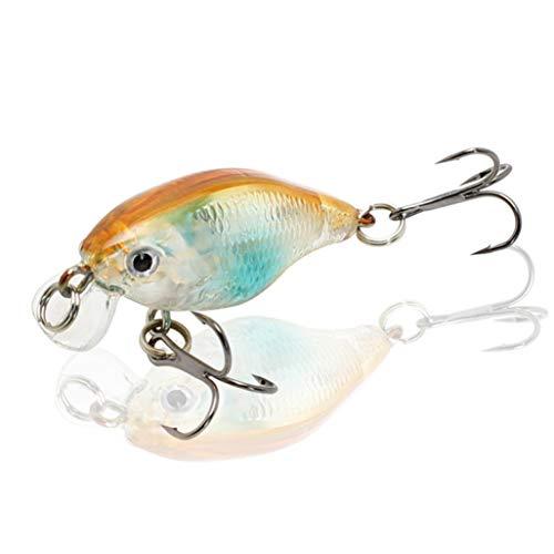BEOTARU Minnow Fishing Lure Crankbait Hard Bait Topwater Artificial Wobblers Bass Carp Lures Fishing Tackle