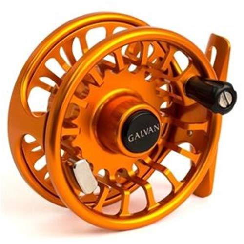 Galvan Torque Fly Reel  12WT  Burnt Orange - Made in USA