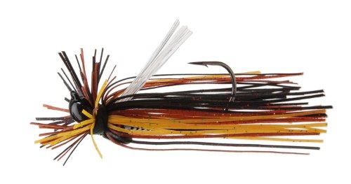 Megastrike Evolution 2 Finesse Jig 716-Ounce Black Head Rusty Craw Skirt