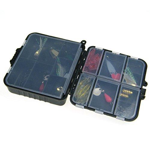 1set33pcs in 1box Laser Spinner Metal Lure Soft Fishing Lure Box Set Kit