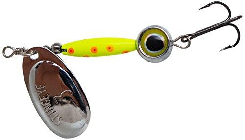 Thundermist Lure Company Eye3-S-CO-SIL Stingeye Spinner Fishing Lure Chartreuse