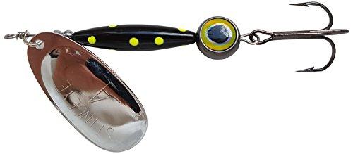 Thundermist Lure Company Eye4-G-by-BLK Stingeye Spinner Fishing Lure Black