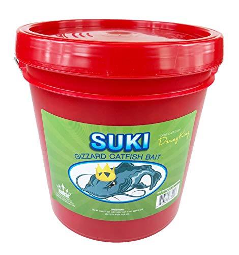 SUKI Gizzard Catfish Bait - 1 Gallon