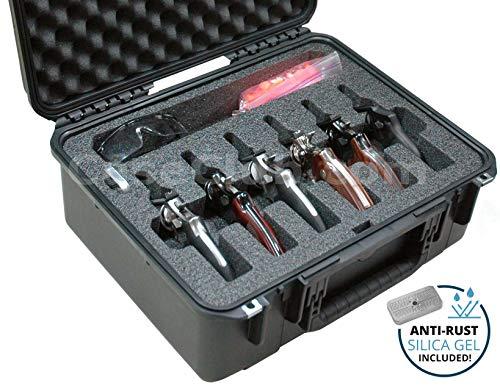 Case Club Waterproof 6 RevolverSemi-Auto Case with Silica Gel