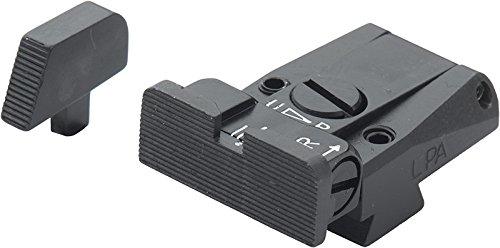 Colt Govt 1911-A1 Black Serrated Fully Adjustable Sight Set