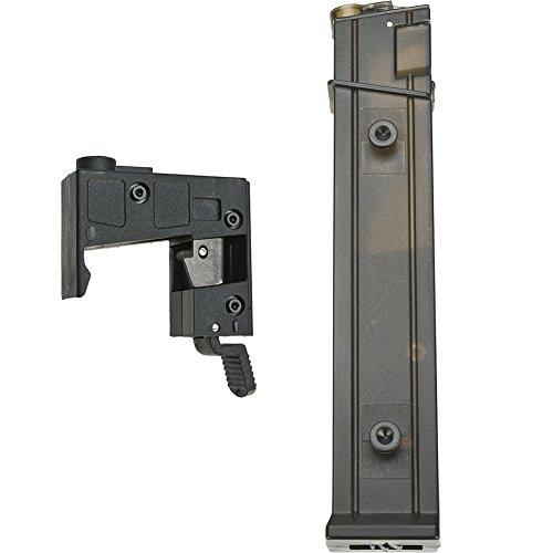 Evike Angel Custom AP10 Pistol Caliber Style Airsoft AEG M4 M16 to MP5 Adapter Conversion Kit Package Converter  Hi-Cap Magazine
