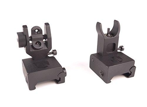 Ozark Armament HK Style Flip Up Backup Sights Picatinny Mount BUIS