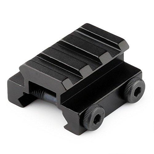 PANOVO 12 3 Slot Low Riser 21mm Weaver Picatinny Rifle BaseScope Mount Rail