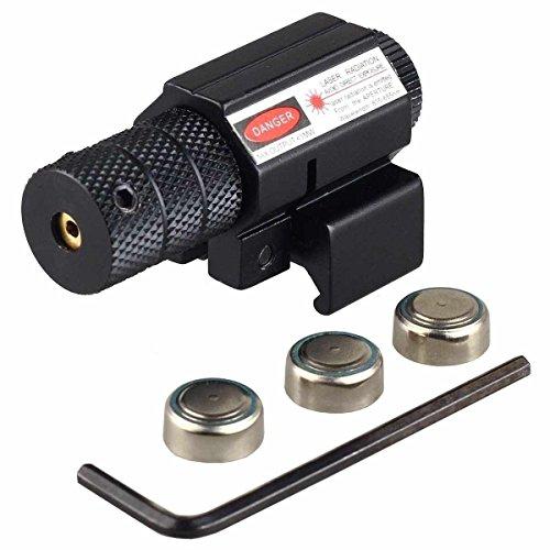 Shooneys Tactical Red Beam Dot Laser Sight Picatinny Weaver Rail Mount Pistol Handgun Airsoft Sight