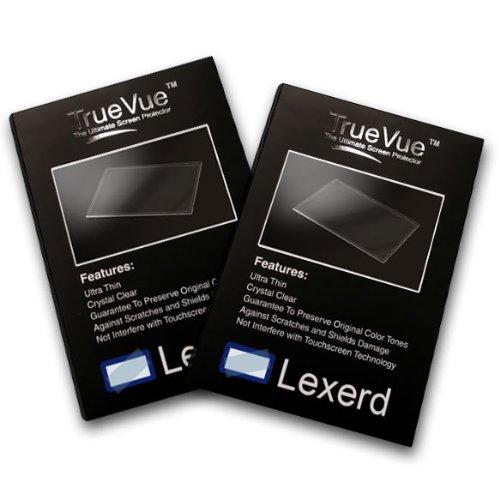Lexerd - Humminbird PiranhaMAX 196CI PT TrueVue Crystal Clear Fish Finder Radar Screen Protector Dual Pack Bundle