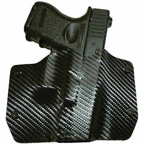 Black Carbon Fiber OWB Holster Right-Hand CZ 75 SP-01