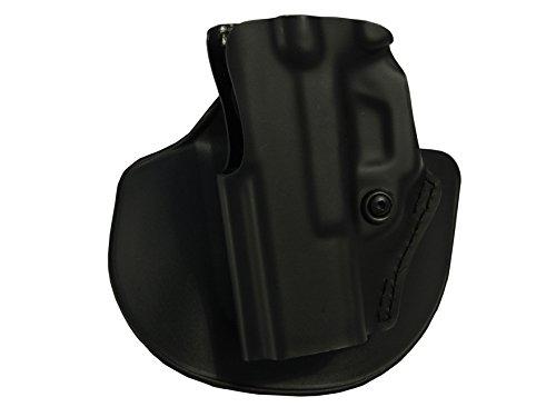 Safariland 5198 Open Top Holster wDetent Paddle Belt Loop Combo CZ 75 SP-01 Plain Black Left Hand