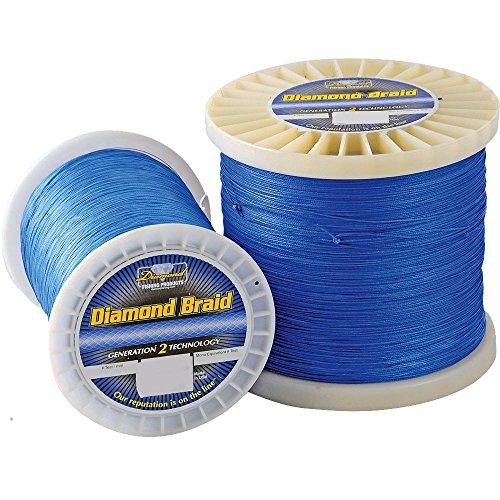 Momoi Diamond Braid Spectra - 600 yd Spool - 65 lb - Non-Hollow - Blue