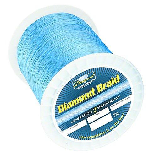 Momois Diamond Braid - 80lb 600yd Offshore Blue