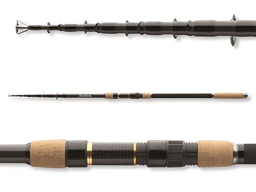 Daiwa Black Widow Tele Carp 1300 ft 350 lbs 8 Sections Telescopic Carp Fishing Rod 11572-396