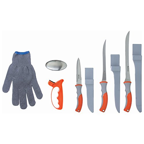Wild Fish 6 Piece Fish Fillet Knife Set Multipurpose Set Ideal for Cleaning Fish and Many Other Kitchen Tasks