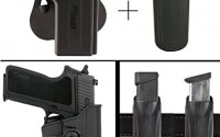 Sig-Sauer-Sigtac-P220-P220R-220R3-220CAR-with-Accessory-Rail-Rotates-360-Right-Hand-Paddle-Holster-Black-Ultimate-Arms-Gear-9mm-40-45-Magazine-Belt-Clip-Pouch-Holder-43.jpg